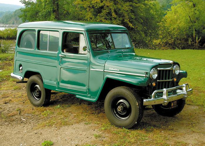 1957 Willys Utility Wagon Autographics Automotive Report