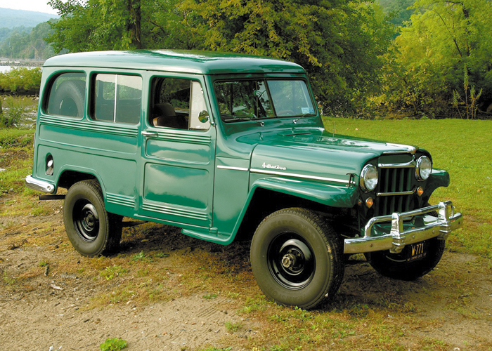 1957 Willys Utility Wagon Autographic S Automotive Report